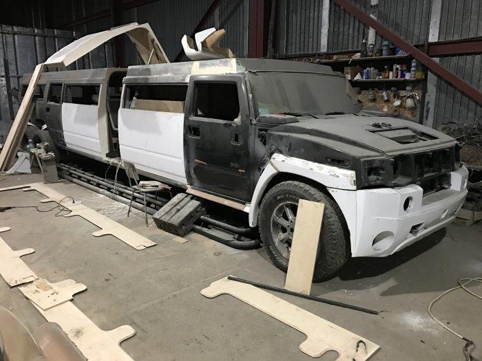 hummer limuzin