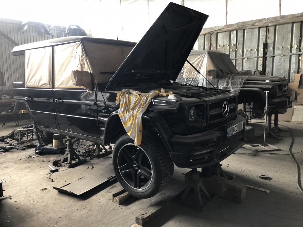 Mercedes G 6x6 Mansory