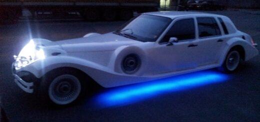 Lincoln town car cit car excalibur ,Реставрация ретро автомобиля,полировка нержавейки бамперов.