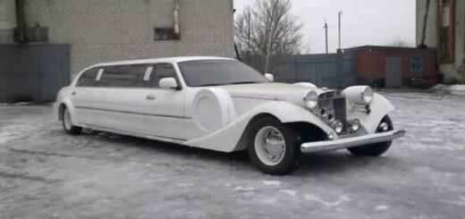 Lincoln town car копия экскалибур из метала.