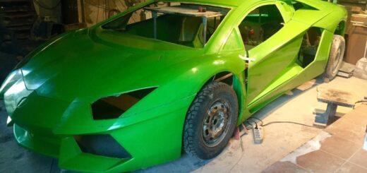 Купить набор Lamborghini Aventador, replica Lamborghini Aventador, Kit car Lamborghini Aventador,body kit Lamborghini Aventador.
