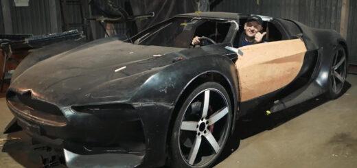 изготовление копии автомобиля единственного в мире Citroën GT.